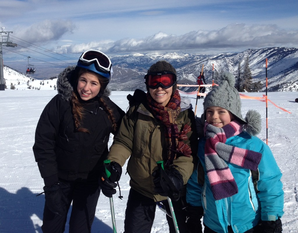 Skiiing with the girls