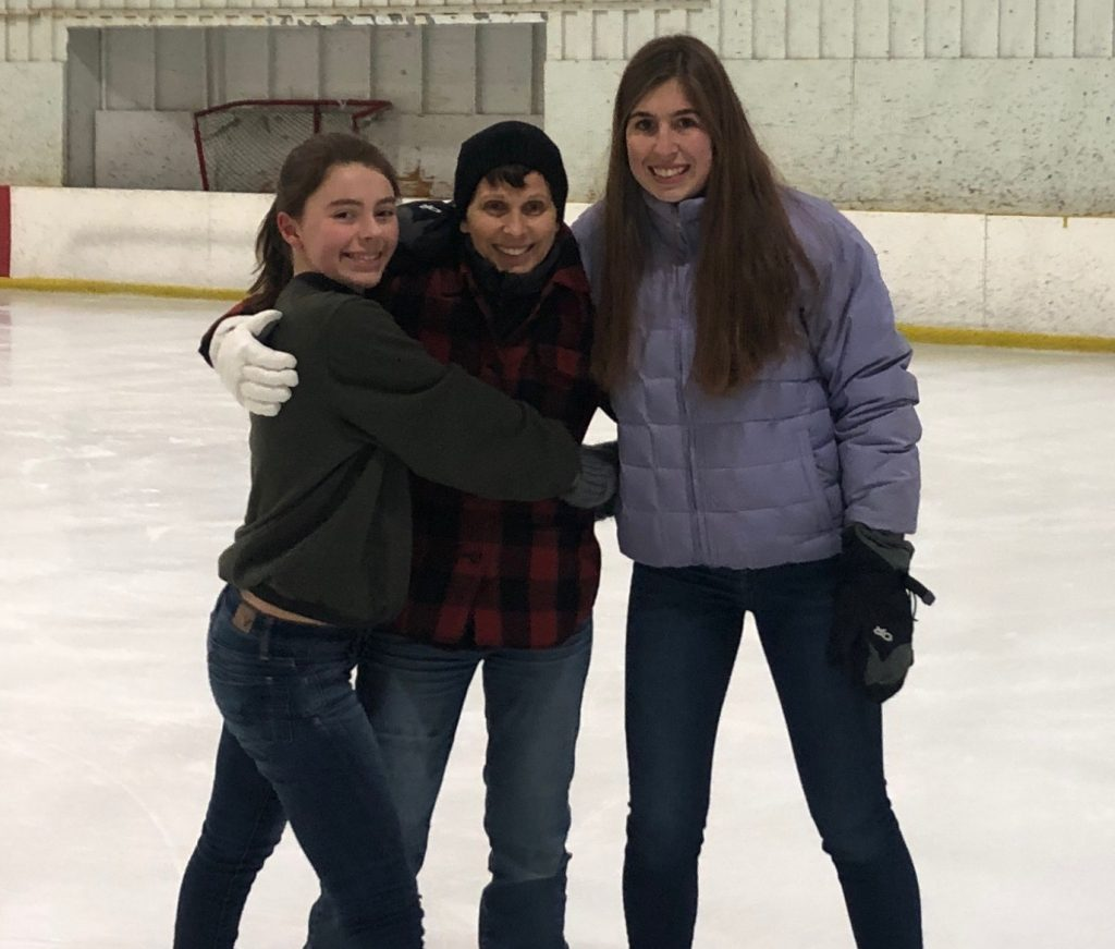 Mom's Birthday Ice Skating Pic 2